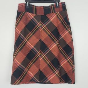 The Limited High Waist Plaid Pencil Skirt NWT